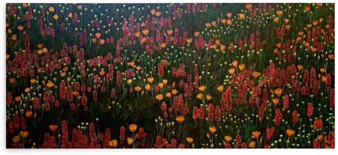 flowers tribute-Nelson Batin by Oliver Batin