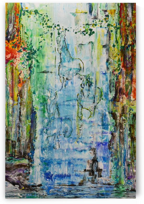Dream Waterfall by Art Turquoise