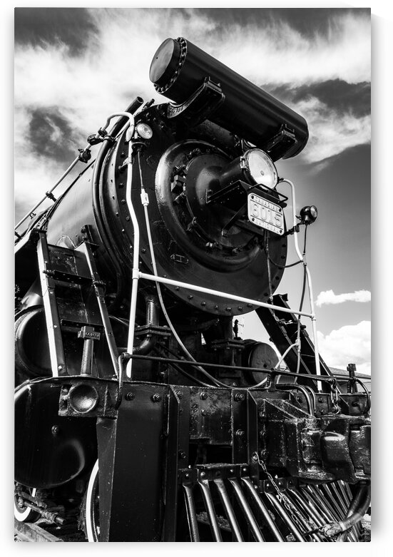 Canadian Steam Locomotive 6015 B by Dave Therrien