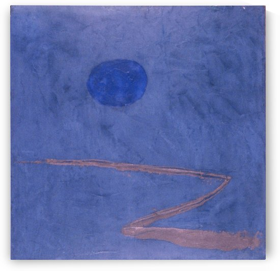 The way into blue by Paul Klee