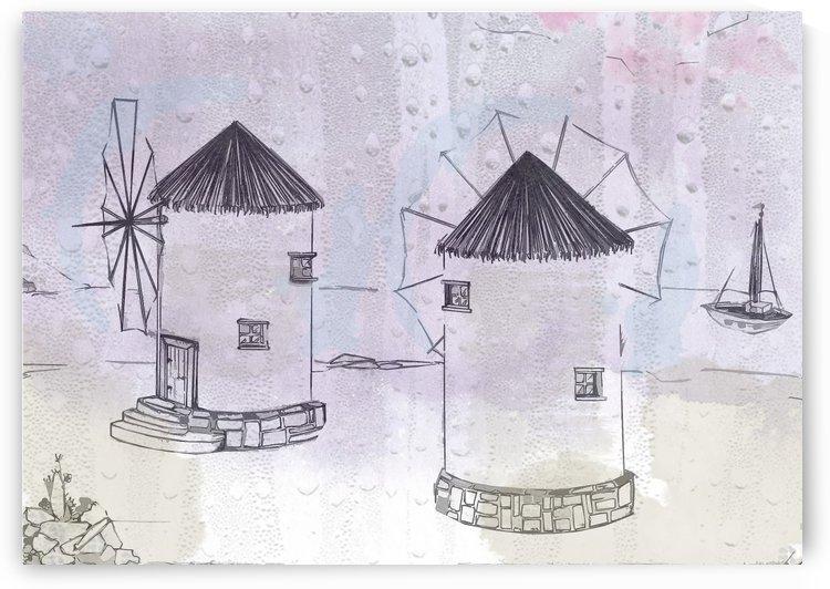 WINDMILL TWINS A4 by ANASTASIA SKARLATOUDI