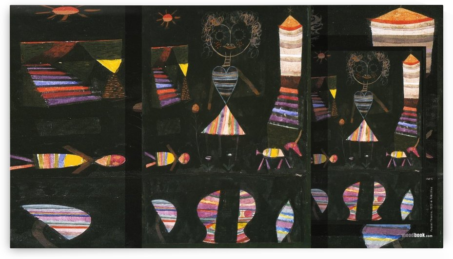 Puppet theatre by Paul Klee