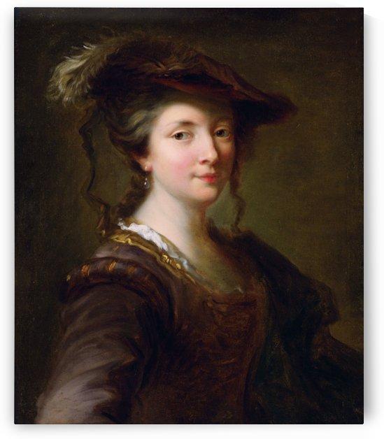 Portrait of a Lady by Alexis Grimou by xzendor7