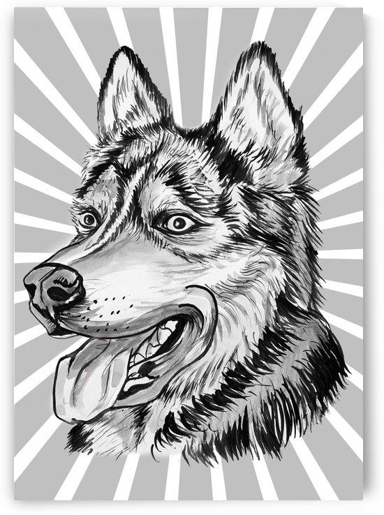 DOG PORTRAIT by ASP ARTS