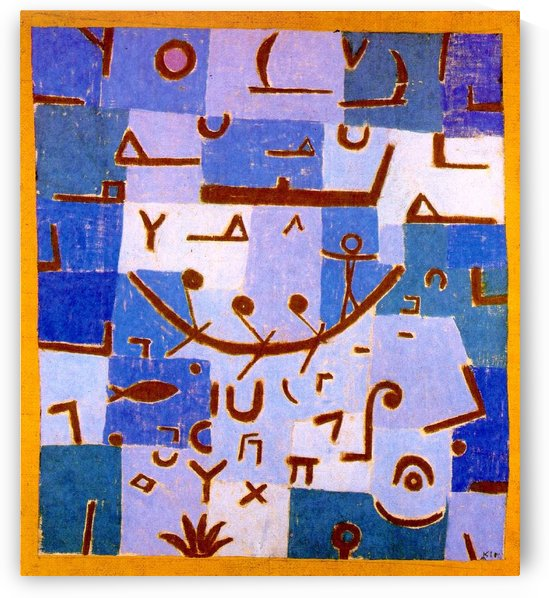 Legend of the Nille by Paul Klee