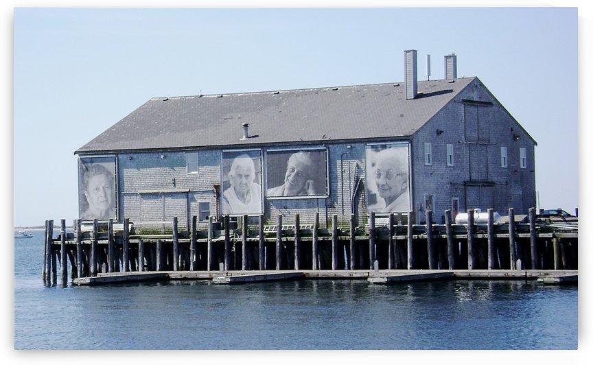 Mothers Wharf Provincetown Massachusetts by FoxHollowArt