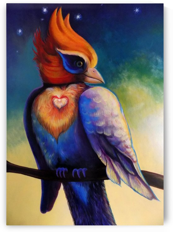 THE LOVE BIRD ALONE by ASP ARTS