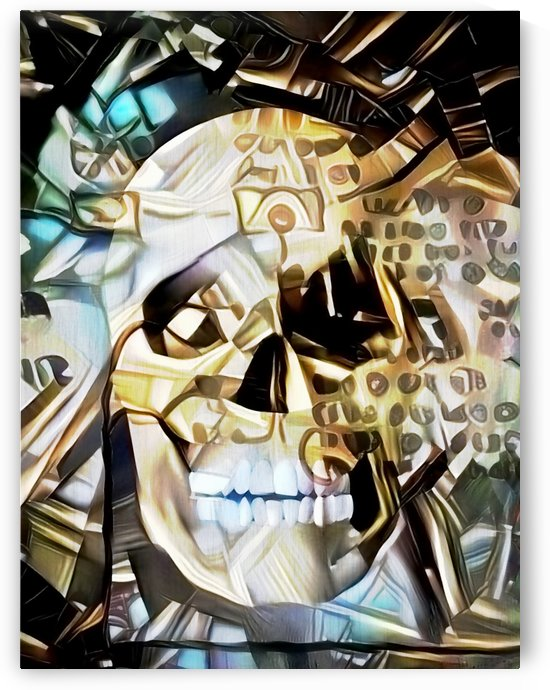 Ancient Skull by Bruce Rolff
