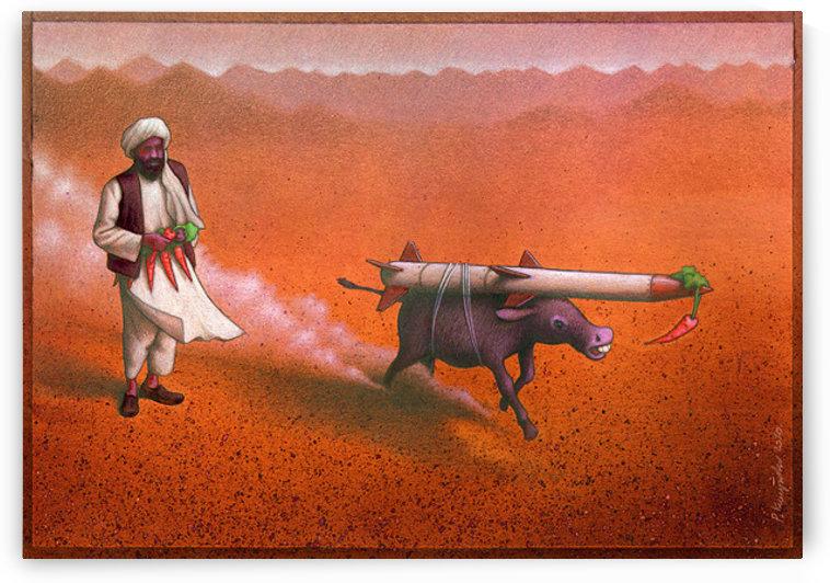 Rocket by Pawel Kuczynski