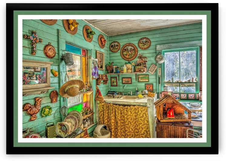Antique Cajun Kitchen - HDR by Digicam