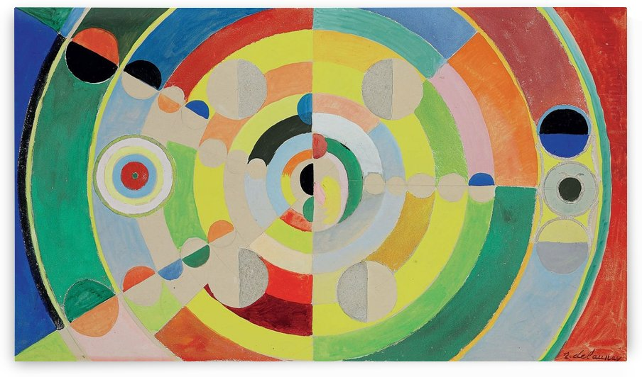 Relief disques by Robert Delaunay
