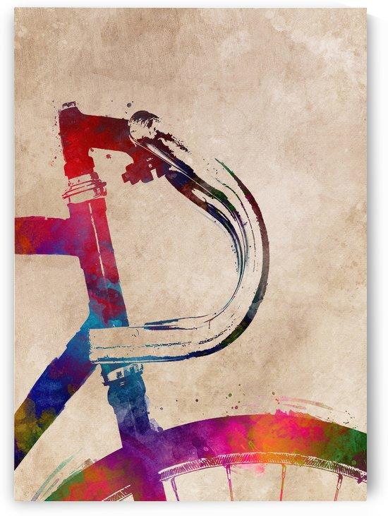 Bike cycling art by Justyna Jaszke