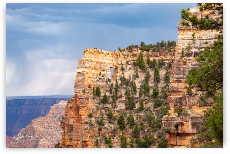 Grand Canyon Window by Gryphon Photography