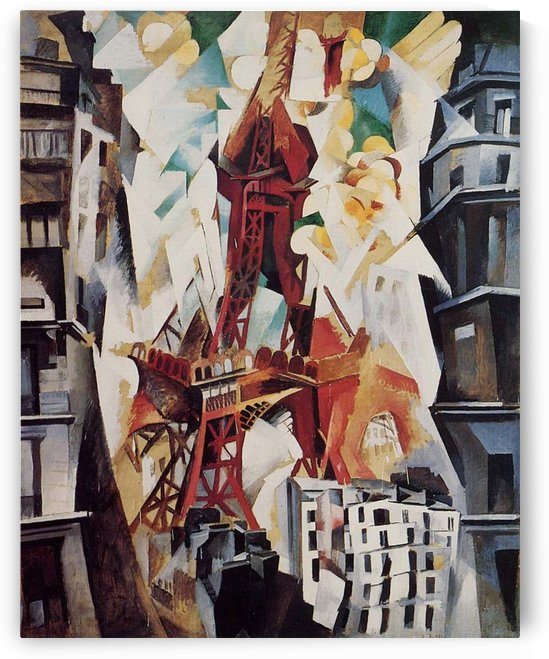 Abstract Eiffel by Robert Delaunay