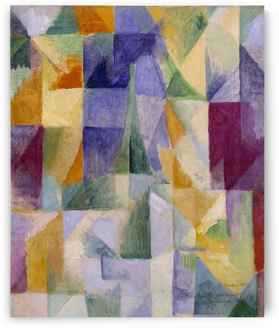 Windows Open by Robert Delaunay