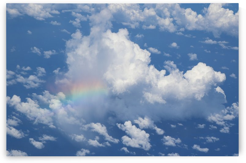 Rainbow Sky Blessings by Deb Striker