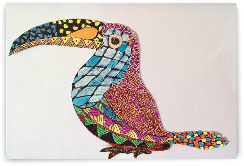 Toucan 2 by Zaramar Paintings