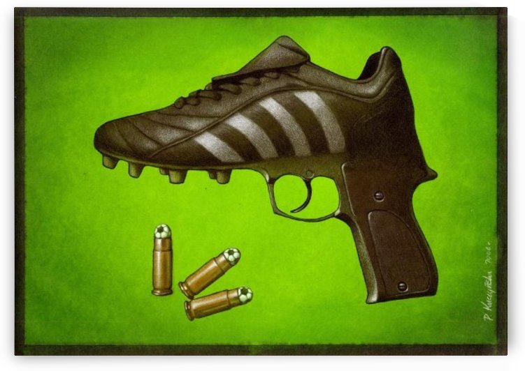 Soccer  by Pawel Kuczynski