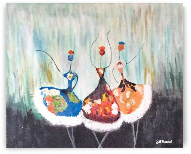 Dancing in the Rain  by Zaramar Paintings