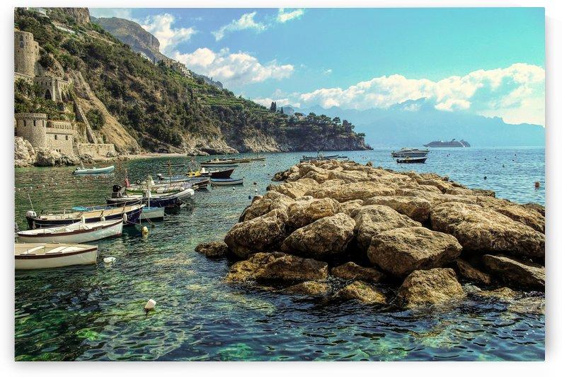 Landscape - Beautiful Amalfi Coast Beach  by Bentivoglio Photography