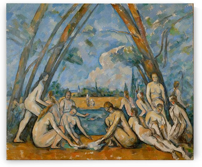 Paul Cézanne: The Bathers HD 300ppi by Famous Paintings