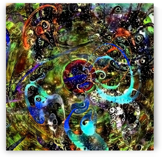 Swirling Abstract by Bruce Rolff