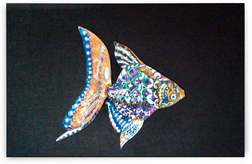 Fantastic Fish  by Zaramar Paintings