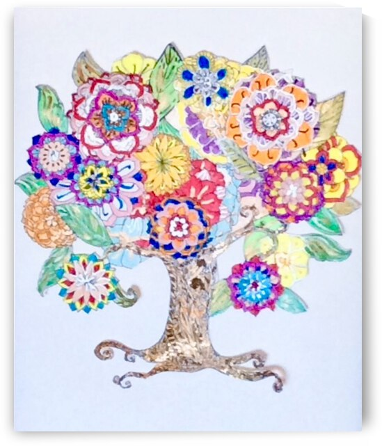 Tree of Life  by Zaramar Paintings