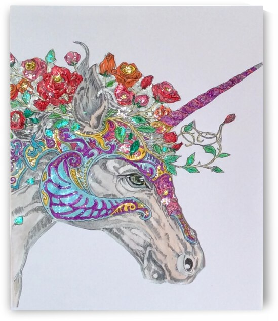 Unicorn  by Zaramar Paintings