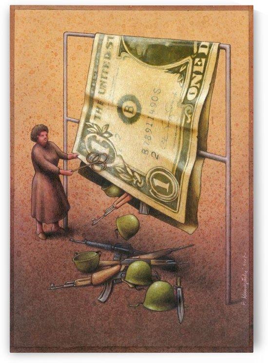 Dollar by Pawel Kuczynski