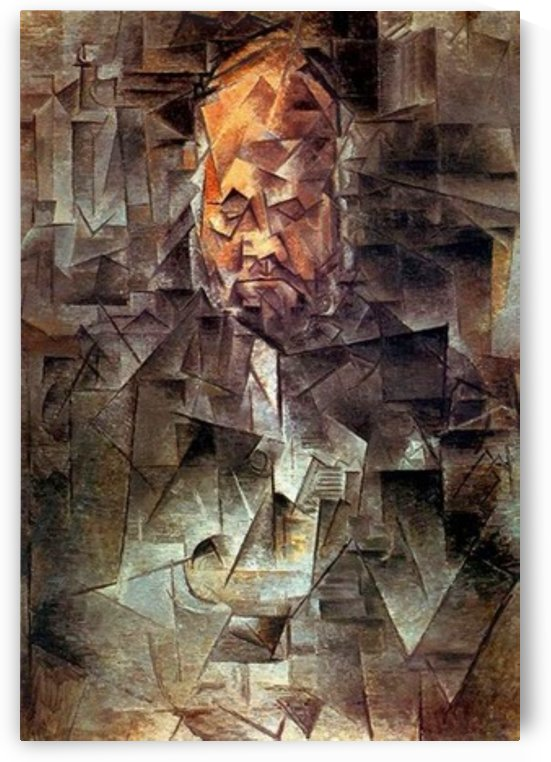 Pablo Picasso. Portrait of Ambroise Vollard HD 300ppi by Stock Photography
