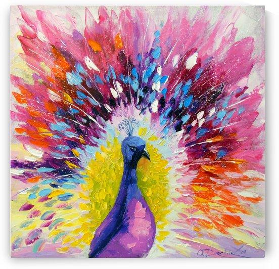 Peacock by Olha Darchuk