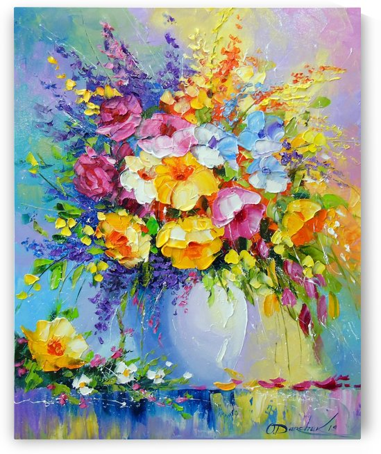 Bouquet of summer flowers by Olha Darchuk