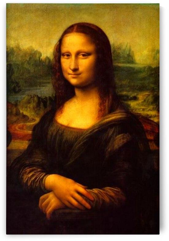 Leonardo da Vinci. The Mona Lisa HD 300ppi by Stock Photography