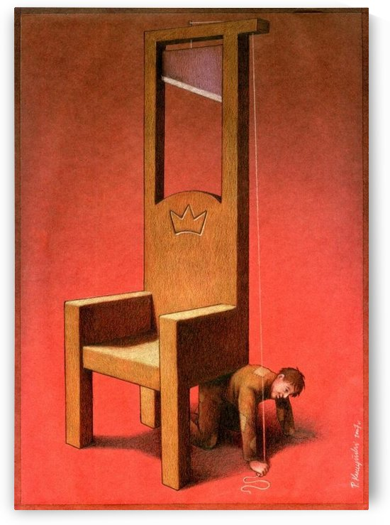 Throne by Pawel Kuczynski