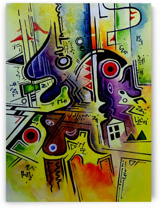 Art Therapy   Composition 3 by Sumit Datta