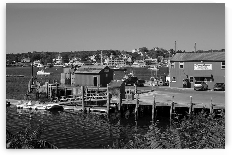 Boothbay Harbor - Maine by FoxHollowArt