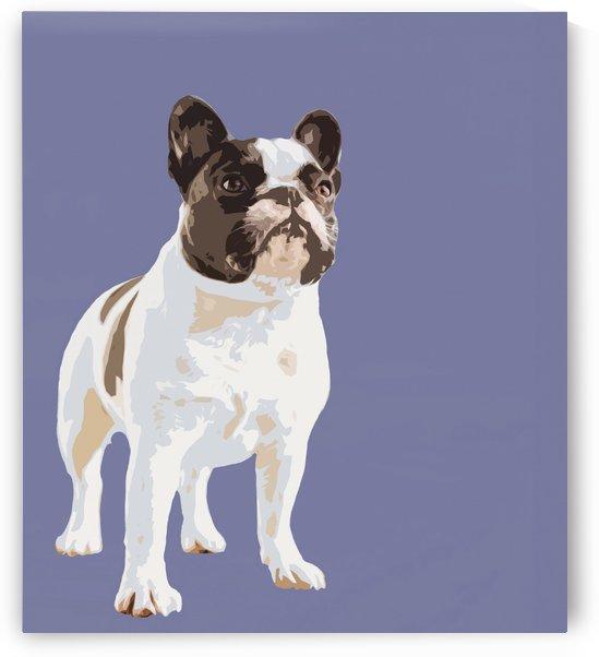 French Bulldog Pop art by Elizabeth Luce Photography