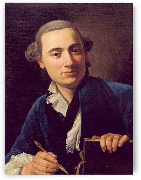 Self-portrait by Jacques-Louis David