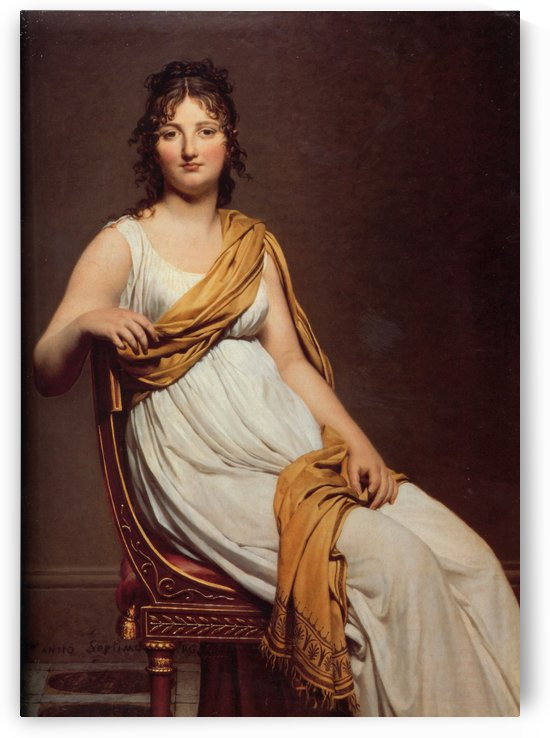 Madame Raymond by Jacques-Louis David