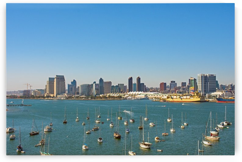 Sunny San Diego by Eric Schmitz