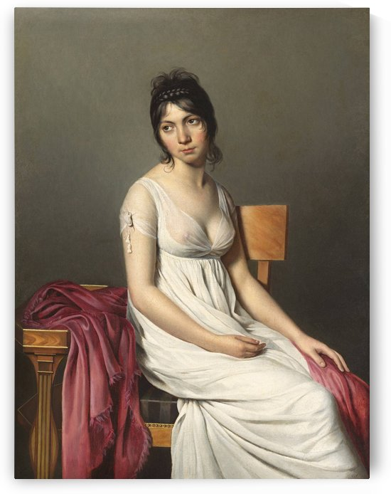 A woman standing by Jacques-Louis David