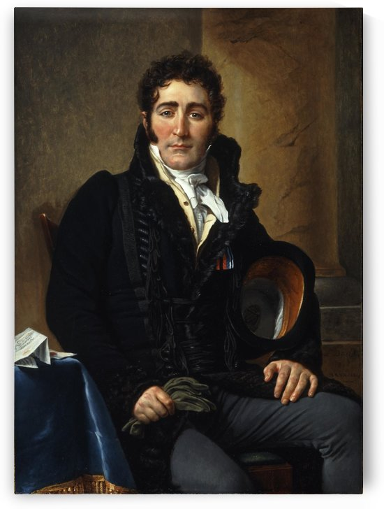 Portrait of Greve by Jacques-Louis David