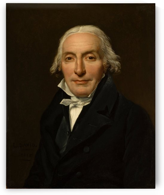Portrait of Jean Pierre by Jacques-Louis David
