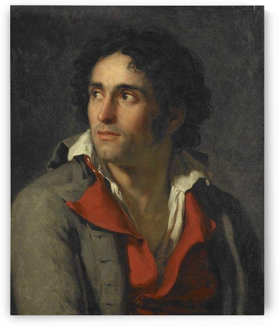 The artist's jailer by Jacques-Louis David