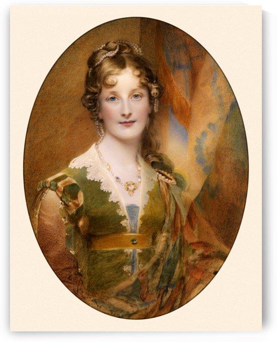 Jane Digby Lady Ellenborough by William Charles Ross by xzendor7