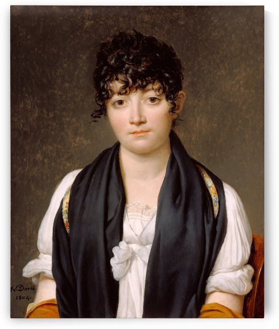 Suzanne le Peltier by Jacques-Louis David