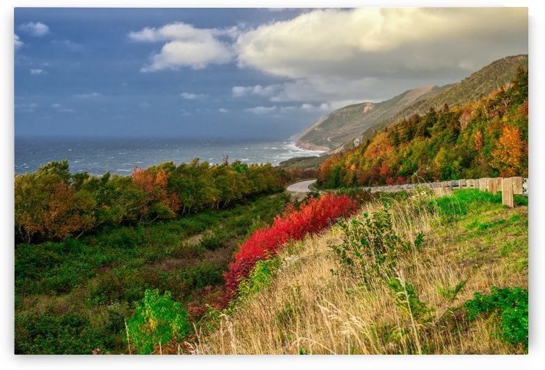 Cabot Trail Colors by Michel Soucy