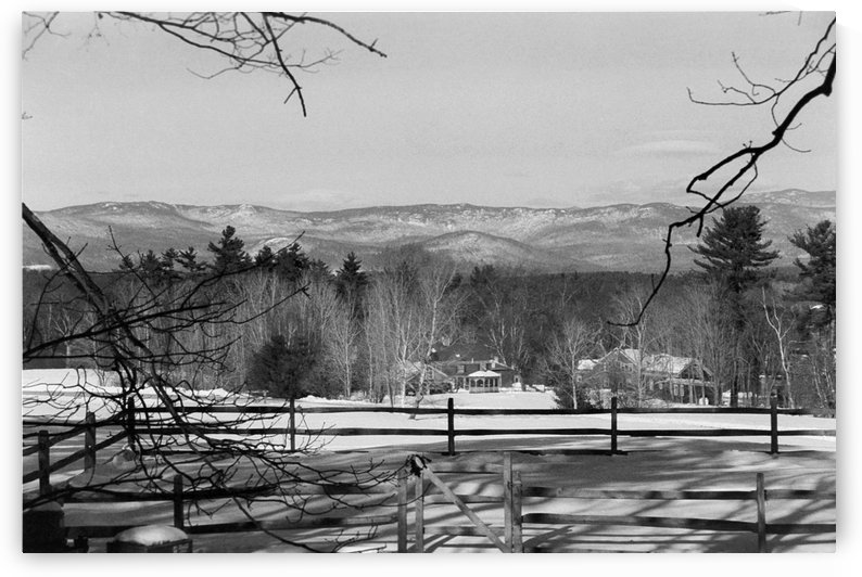 White Mountains - New Hampshire by FoxHollowArt