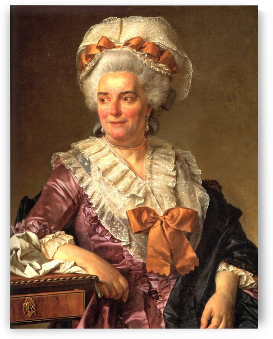 Portrait of Genevieve Jacqueline Pecoul by Jacques-Louis David